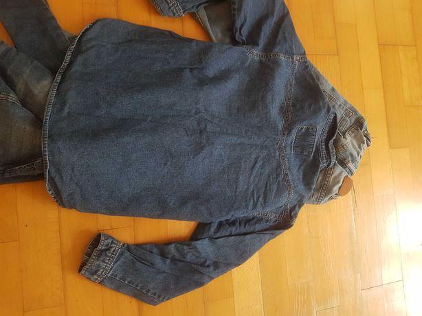 Zestaw jeansowy 134cm