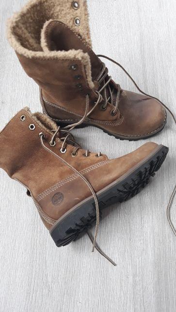 Zimowe buciki Timberland SKÓRA(rozmiar 28.5dł wkładki 17.5)