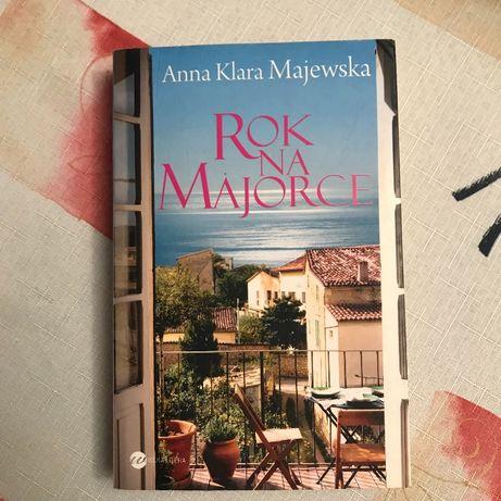 Książka Rok na Majorce - Anna Klara Majewska
