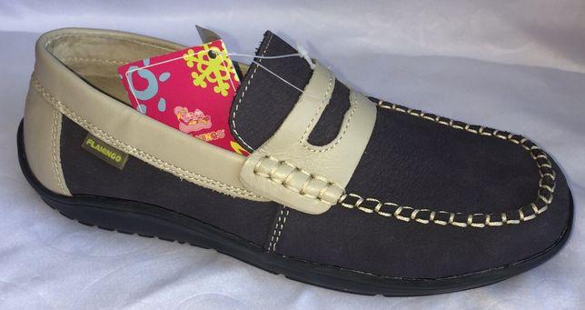 Туфли для мальчика кожаные