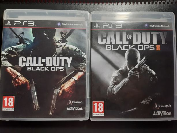 Call of Duty: Black Ops PS3 e Call of Duty: Black Ops 2 PS3