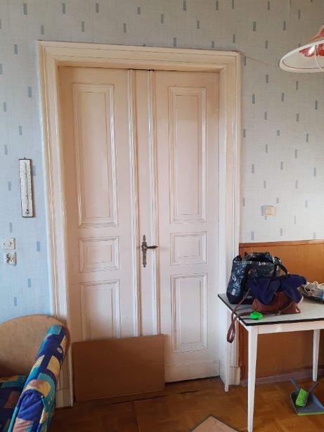 Drzwi wewnętrzne dwuskrzydłowe retro prowansalskie
