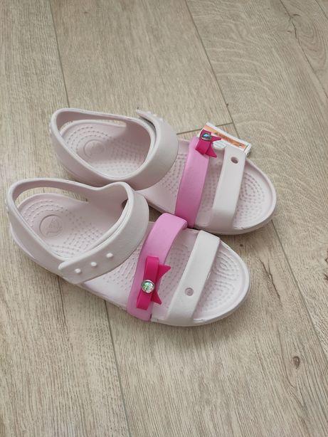 Босоножки Crocs для девочки размер  С12
