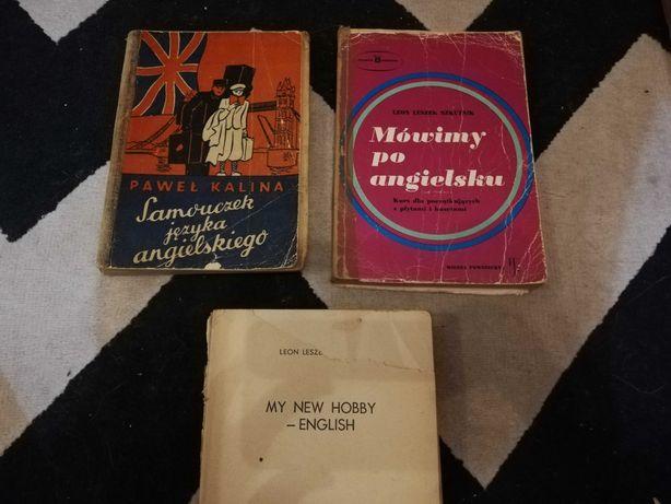 2 stare podręczniki do angielskiego angielski oddam