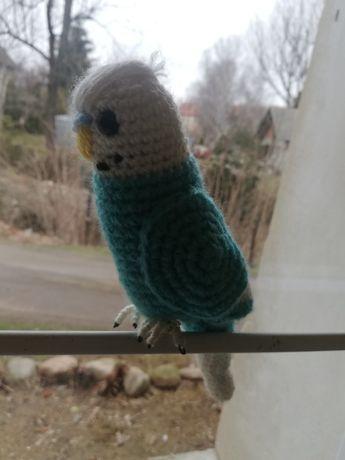 Papużka falista-rękodzieło.