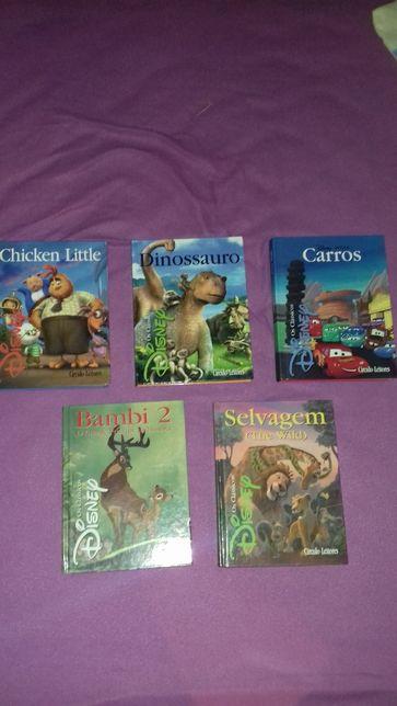 Coleção de livros Disney