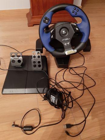 Kierownica PS2 Logitech force