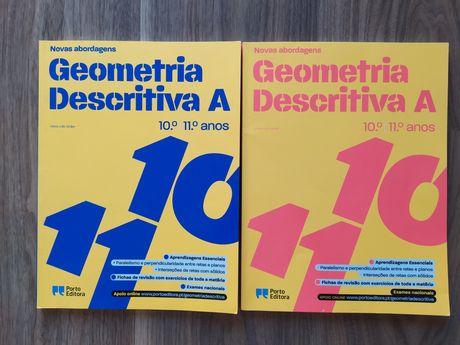 Livro de preparação para exame de geometria descritiva A Porto Editora