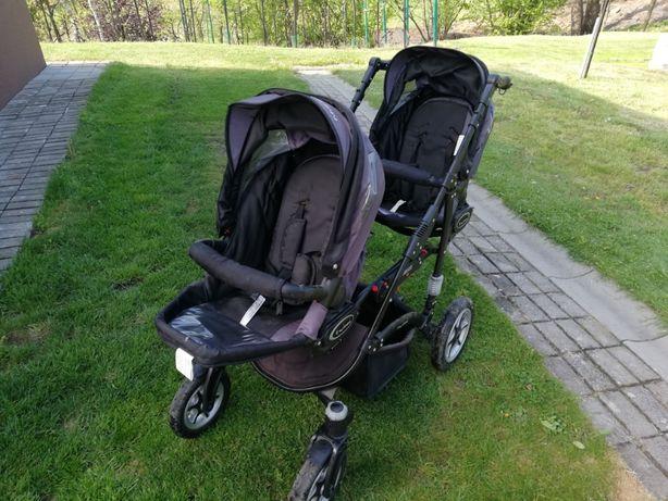 Wózek bliźniaczy 3w1 babyactive twinni