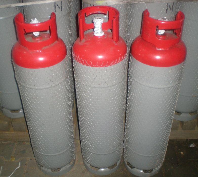 Butla na gaz gazowa propan butan 11kg świeczka pusta opakowanie