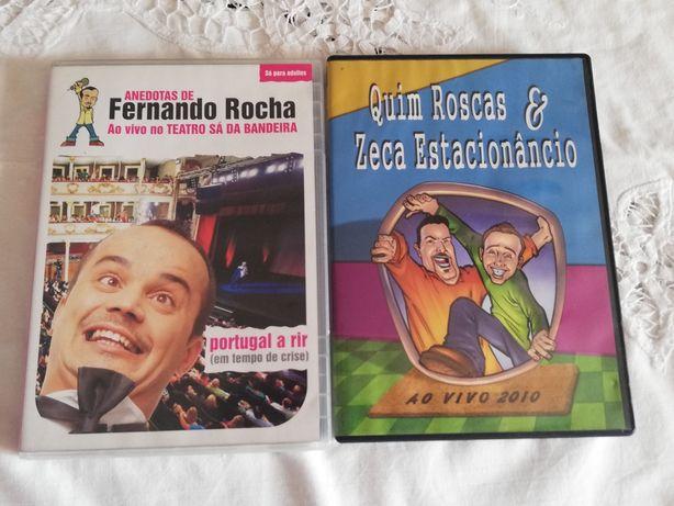 Dvds de comédia ao vivo