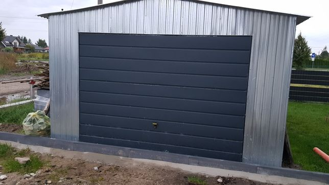 Garaz blaszany 5x4 blaszak