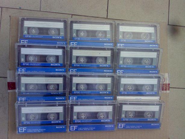 Аудиокассеты Sony EF90 (Japan): рок, диско, Задорнов.