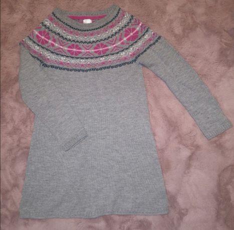 Tunika/sweterek dziewczęcy