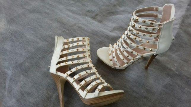 Buty białe letnie 38 rozmiar
