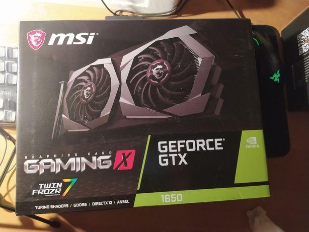 Коробка от MSI Gtx1650 GDDR6