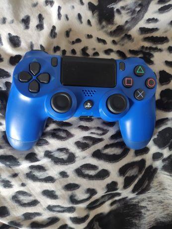 Niebieski pad kontroler ps4 playstation4 v2 nie v1