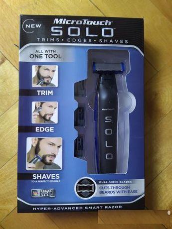 Бритва триммер для мужской бороды и стрижки волос MICRO TOUCH SOLO