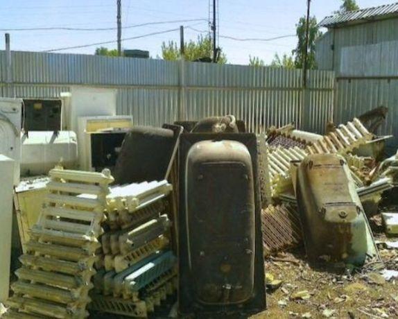 Вывоз металлолома газелью по максимальным ценам. Металлолом. Ванны.