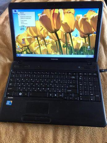 Продам ноутбук TOSHIBA в хорошем состояниии