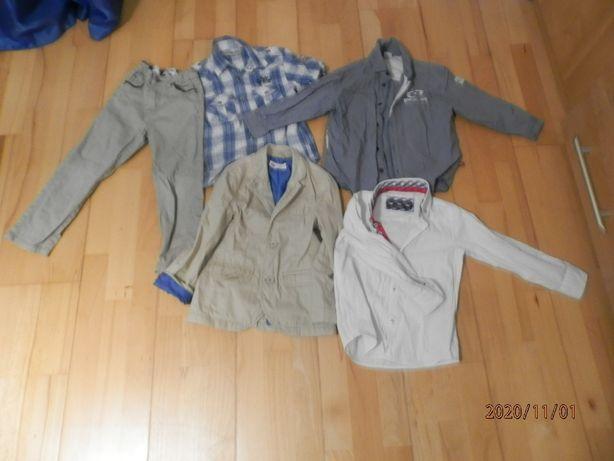 Elegancki zestaw dla 3-4 latka r. 104 marynarka spodnie