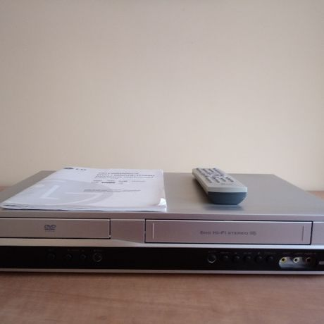 LG DVD/VHS model 1800
