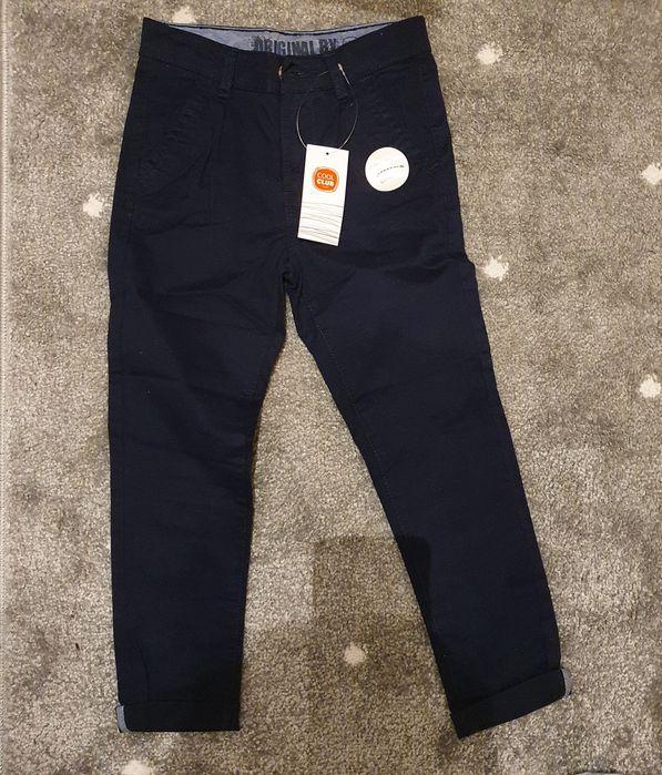 Granatowe materiałowe spodnie rozm. 116 Cool Club Ozorków - image 1