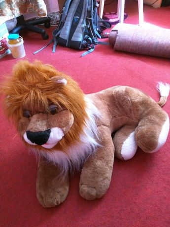 Мягкая игрушка, лев большой