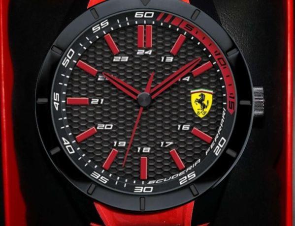 Nowy zegarek Scuderia Ferrari RedRev Quarzo RED 44mm
