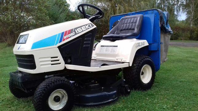 Traktorek kosiarka ISEKI sl 14 kawasaki komunalna hydro