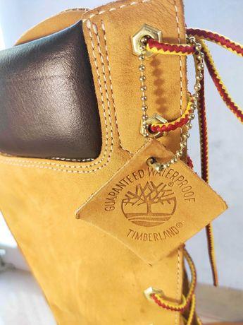 timberland waterproof Ботинки женские кожаные 37 р 22,5-23 см оригинал