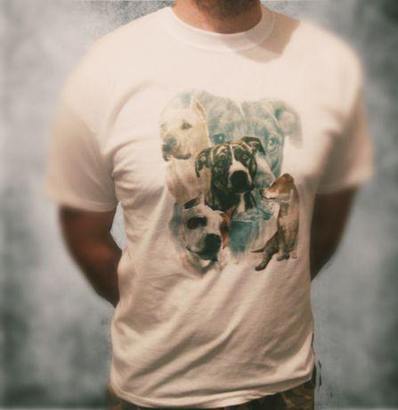 Koszulka bluzka t-shirt ttb amstaff pitbull american Bully nowa
