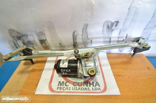 Sistema  Motor Limpa vidros Fiat Stilo
