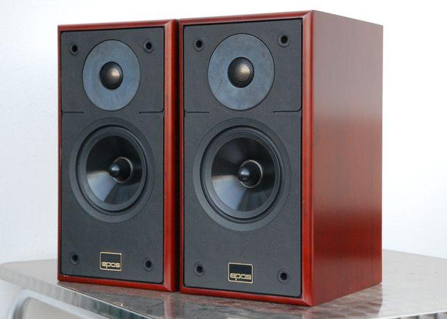 Epos M12 British Audiophile Bookshelf Speakers Dark Cherry