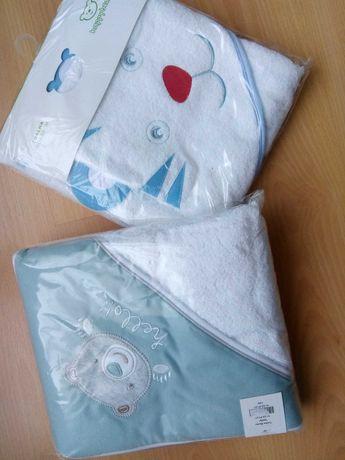 Toalhas de banho novas com embalagem