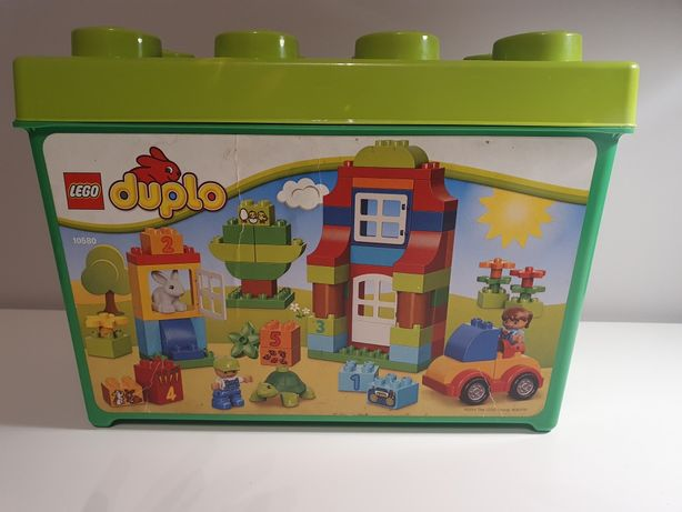 Zestaw klocków Lego Duplo 10580 pudełko pełne zabawy 95 szt