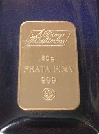 Barra PRATA FINA - 50 gramas