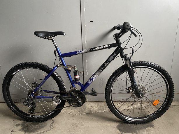 Велосипед Active Fire DH 26 Двухподаесный/ Дисковые Тормоза