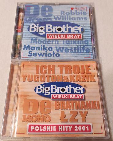 Płyta CD - Big Brother - cena za 2 sztuki 50 zł