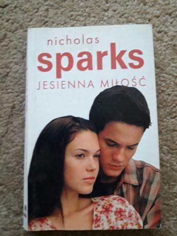 Książka Nicholas Sparks-Jesienna miłość