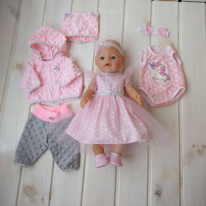 Подарочный набор одежды для Беби Борн Baby Born платье костюм трусики Харьков - изображение 1