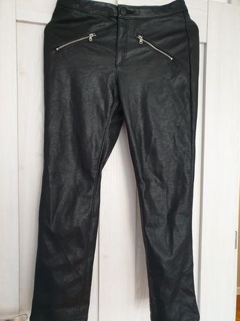 Spodnie eko skora H&M