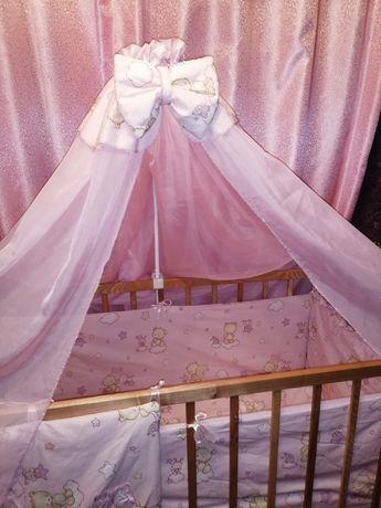 СРОЧНО! Детская кроватка для маленькой принцессы ТОРГ