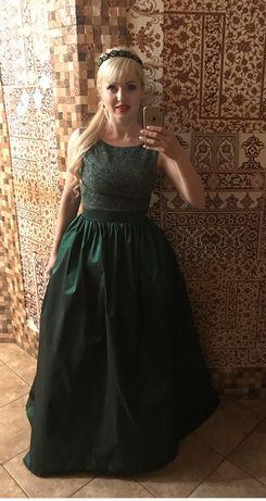 Вечірне плаття + діадема Оксана Муха