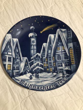 Porcelana Talerz kolekcjonerski okolicznosciowy