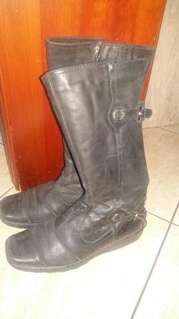 Kozaki 36 buty zimowe dmskie lasocki ccc skóra naturalna