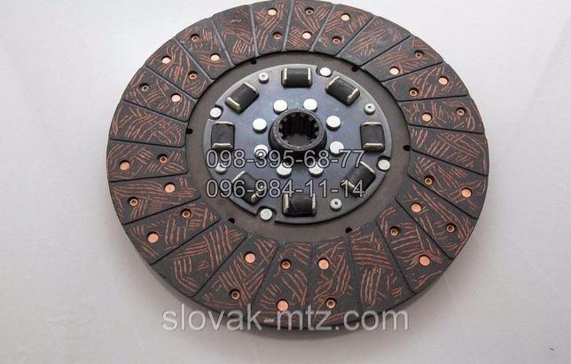 Диск сцепления МТЗ керамика (на резинках). Д-240. 70-1601130-А4