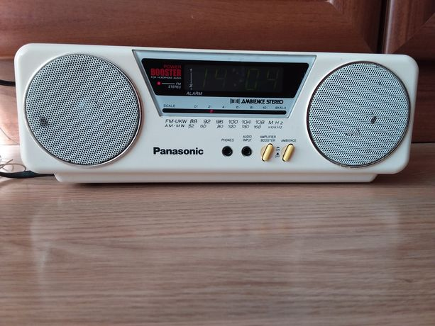 Radiobudzik Panasonic RC-X210 AM-FM Stereo unikat