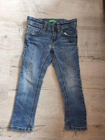 Spodnie jeansowe slim Benettona