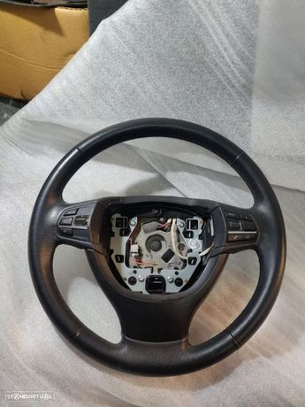 Volante BMW Serie 5 F10 F11 7 F01 F02 F04 Guiador F18 F07 GT Comandos SET
